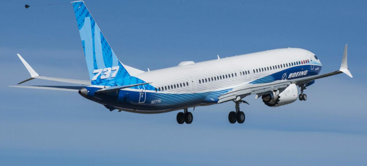 Boeing, ok il primo volo del 737-10: il più grande aereo a corridoio singolo