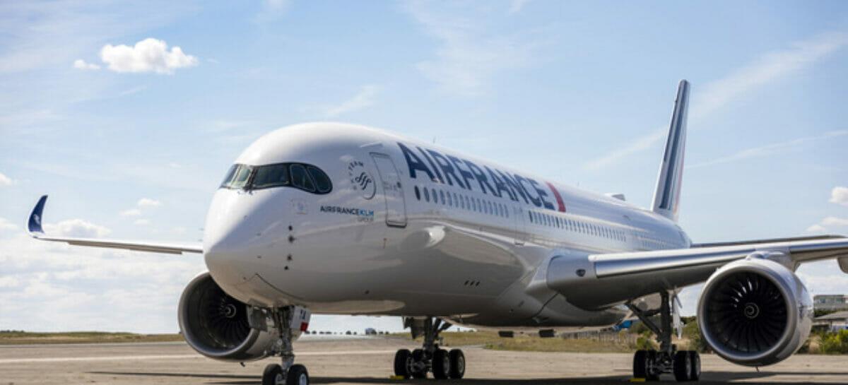 Sicurezza anti Covid, cinque stelle Skytrax per Air France