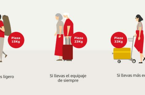 Iberia rivoluziona la policy bagaglio per i voli in Europa