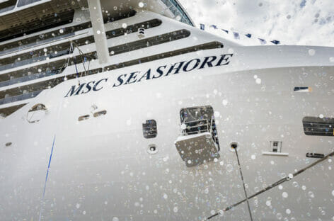 Msc Crociere, arriva in flotta Seashore