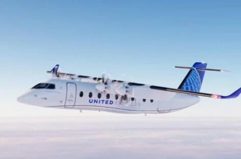 Voli a zero emissioni: United ordina 100 aerei elettrici