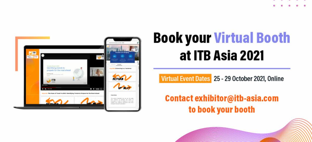 Itb Asia sarà ancora virtuale dal 25 al 29 ottobre 2021
