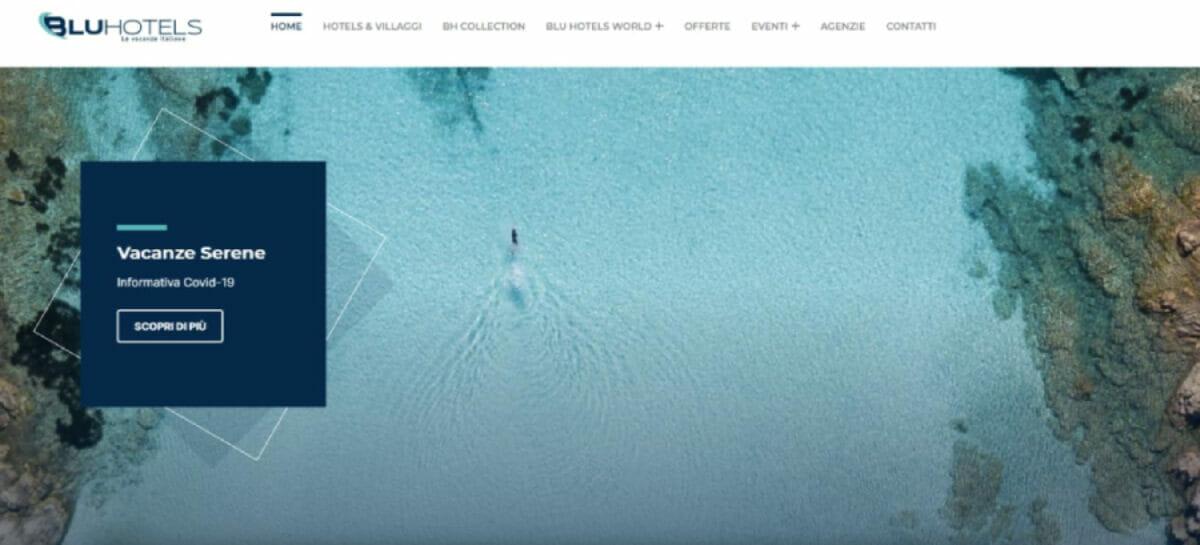 Blu Hotels completa il restyling del sito web
