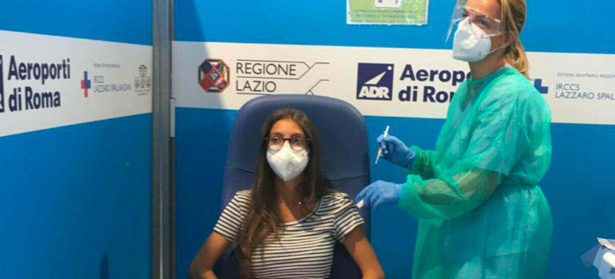 Vax & Go, a Fiumicino apre il primo punto vaccini per i passeggeri