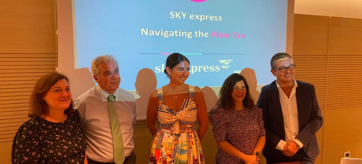 Atene sempre più vicina con i voli Sky Express da Roma