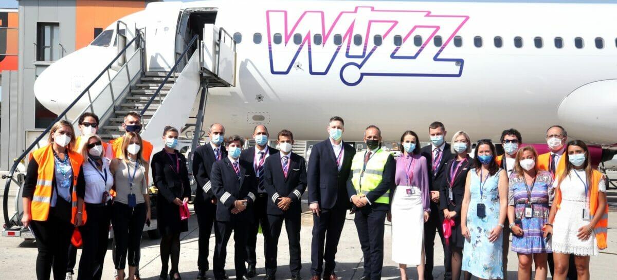 Wizz Air apre a Napoli la sesta base italiana