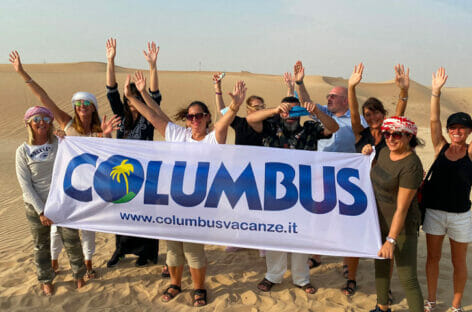 Columbus porta le agenzie a Dubai e Abu Dhabi