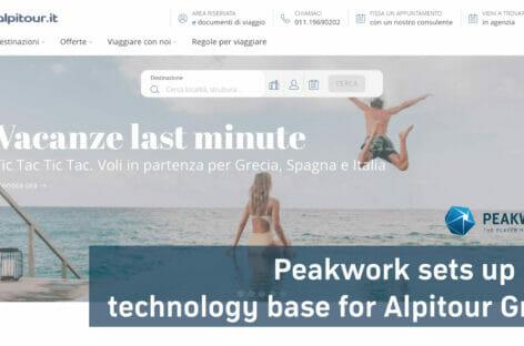 I pacchetti dinamici di Alpitour sono targati Peakwork