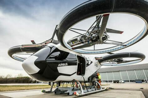 Airbus punta sulla mobilità urbana con il mini-aereo elettrico