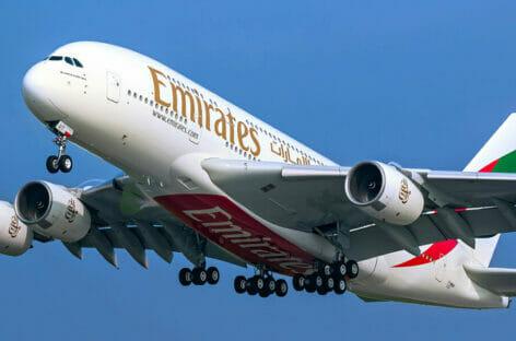 Torna il gigante dei cieli: Emirates vola tra Italia e Usa con l'A380