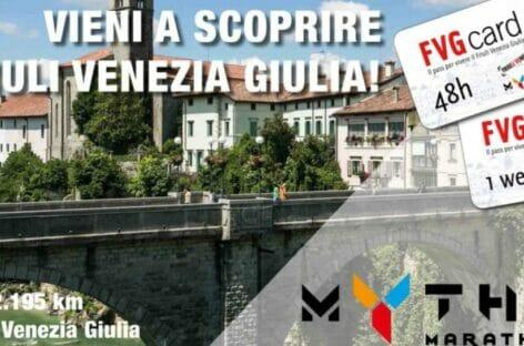 Mytho Marathon in Friuli Venezia Giulia con il patrocinio Enit