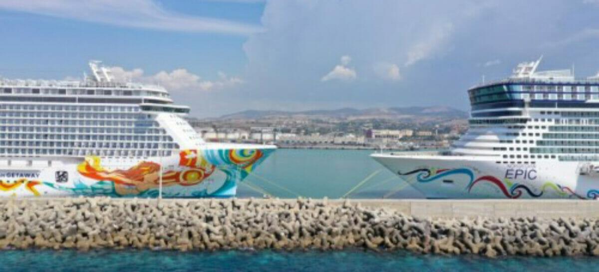 Ncl riposiziona due navi nel Mediterraneo