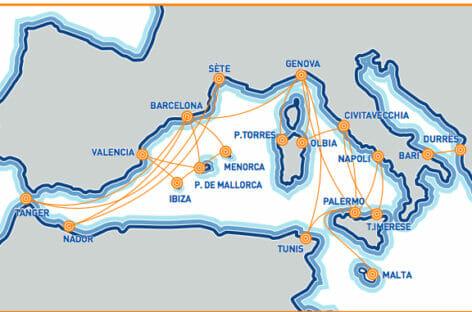 Gnv potenzia i servizi sulle Baleari: rotta su Minorca